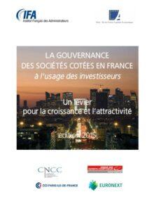 La gouvernance des sociétés cotées en France - Un guide à l'usage des investisseurs (Français)