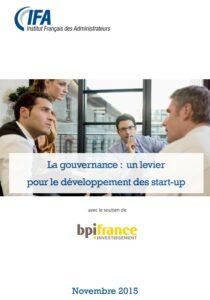 Guide pour la gouvernance des start up