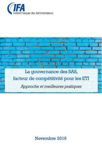 Gouvernance des SAS, facteur de compétitivité pour les ETI
