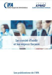 Comité d'audit et enjeux fiscaux