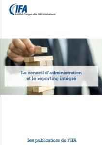 Le conseil d'administration et le reporting intégré
