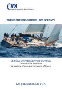 Le rôle du Président de Conseil- janvier 2018 (Français-Anglais)
