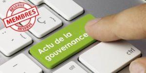 Actu IFA de la gouvernance 31/08/2020