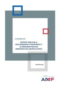 Rapport 2020 de l'AMF sur le gouvernement d'entreprise et les rémunérations des dirigeants