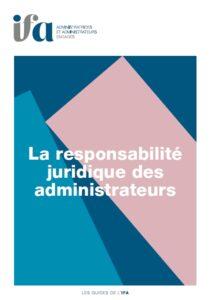 La responsabilité juridique des administrateurs