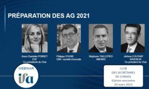 61ème rencontre du Club des secrétaires de conseil : La préparation des AG