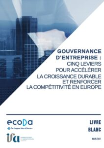 ecoDa - Livre blanc - 5 leviers  pour accélérer la croissance durable et renforcer la compétitivité en Europe