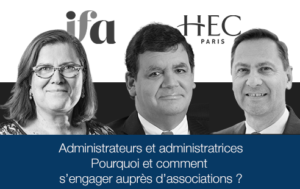 Les mercredi IFA-HEC Alumni | La gouvernance des associations.