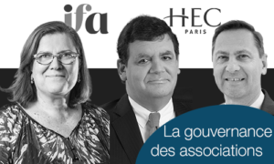 Les mercredis IFA HEC - La gouvernance des associations