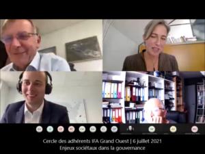 Cercle IFA Grand Ouest - Enjeux sociétaux