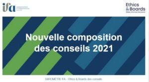 Nominations 2021, nouvelles compétences & diversité des conseils